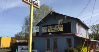 Featured image for Bikram Yoga studio in Lake County, CA with view of front side of studio